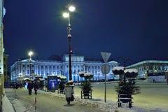 Das Gebäude der gesetzgebenden Versammlung von St Petersburg im Th Stockfotografie