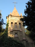 Das Gebäude der katholischen Kirche Stockfotos