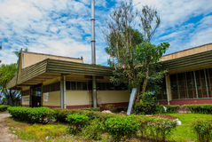 Das Gebäude der malaysischen Teefabrik Sabah borneo Lizenzfreies Stockbild