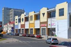 Das Gebäude der Supermarkt Magnetniederlassung in Novorossiysk stockfoto