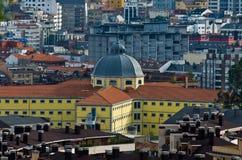 Das Gebäude des Archivs von Asturien Stockfotos