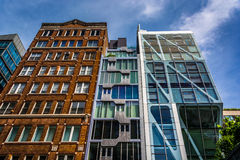 Das Gebäude des Kondominium-HL23 auf 23. Straße in Chelsea, Manhatt Stockbilder