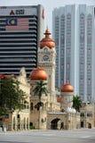Das Gebäude Sultan-Abdul-Samad Stockbild