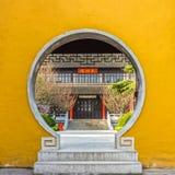 Das Gebäude und der Bau in Daming Temple lizenzfreies stockfoto