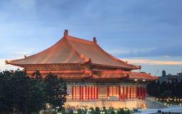 Das Gebäude von Chiang Kai-shek Memorial Hall Stockfotos