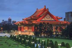 Das Gebäude von Chiang Kai-shek Memorial Hall Stockfoto
