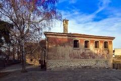 Das Gebäude von Danov-Schule vom 19. Jahrhundert, Perushtitsa, Plowdiw-Region, Bulg Stockbilder