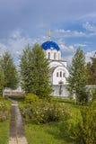 Das Gebiet und der Tempel des weiblichen Klosters lizenzfreies stockbild