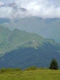 Das Gebirgs von Svaneti stockbild