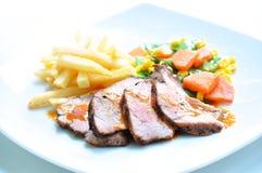 Das gebratene Rindfleisch Lizenzfreie Stockfotos