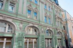 Das Gebäude von ehemaligem Volga-Kama Commercial Bank Stockfotos