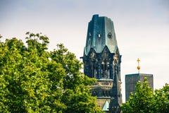 Das Gedachtniskirche in Berlin, Deutschland lizenzfreie stockfotografie