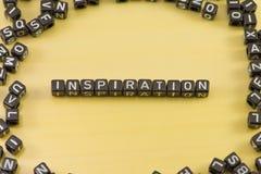Das Gefühl der Inspiration stockfotografie