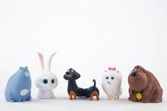 Das geheime Leben des Haustier-Spielzeugs Stockbild