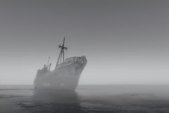 Das Geisterschiff Stockfotos