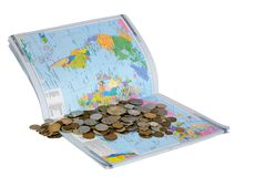 Das Geld Stockfoto