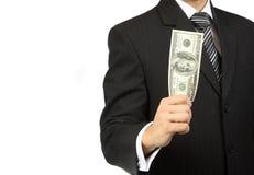 Das Geld in der Hand Lizenzfreie Stockfotografie