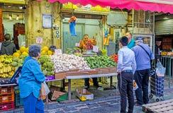 Das Gemüse im Markt Lizenzfreies Stockfoto
