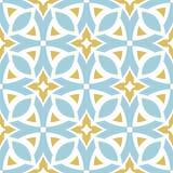 Das geometrische Muster Nahtloser Hintergrund Lizenzfreies Stockbild