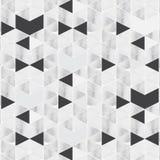 Das geometrische Vektormuster, das Dreieck- und Hexagonform mit Marmoroberfläche wiederholt, Muster ist sauber und fähig stimmen  vektor abbildung