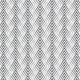 Das geometrische Vektormuster, lineare Dreiecke wiederholend verziert grafisches säubern für Druck, Tapete, Hintergrund lizenzfreie abbildung