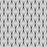 Das geometrische Wellenmuster Nahtloser vektorhintergrund Stockfotos