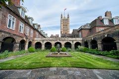 Das Gericht innerhalb Westminster Abbey, London Lizenzfreie Stockfotografie