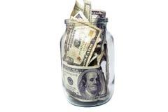 Das geschützte Geld Stockbilder