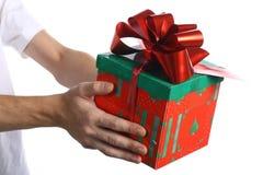 Das Geschenk Stockbild