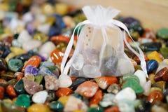 Das Geschenk Halbedel von den Steinen das Polier Stockfoto