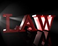 Das Gesetz Lizenzfreie Stockbilder