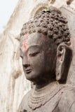 Das Gesicht von Buddha Stockbild