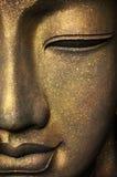 Das Gesicht von Buddha Stockfoto