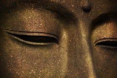 Das Gesicht von Buddha Lizenzfreies Stockbild