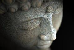 Das Gesicht von Buddha Stockfotografie