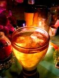 Das Getränk, das wir hatten Stockfotografie