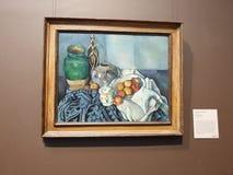 Das Getty-Mitte--Nochleben mit Äpfeln stockbilder