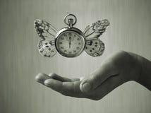 Das Gewicht von Zeit Stockfoto