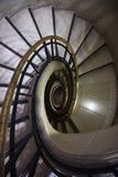 Das gewundene Treppenhaus Stockfoto
