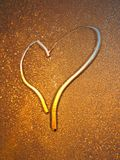 Das gezogene Innere. Valentinsgruß Lizenzfreie Stockbilder