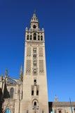 Das Giralda in Sevilla Stockfotos