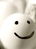 Das glückliche Ei lizenzfreie stockfotos