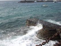 Das glückliche Meer Lizenzfreies Stockbild