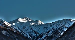 Das Glühen der Berge Lizenzfreies Stockbild