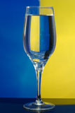 Das Glas mit Wasser Lizenzfreie Stockfotos