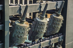 Das Glockenspiel Bell, Peking stockbilder