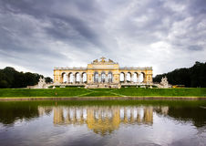 Das Gloriette, Wien Stockbild
