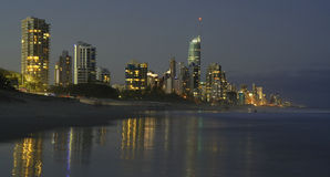 Das Gold Coast stockbild