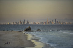Das Gold Coast Lizenzfreies Stockfoto