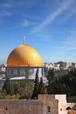 Das Golden Dome der Moschee Lizenzfreie Stockbilder